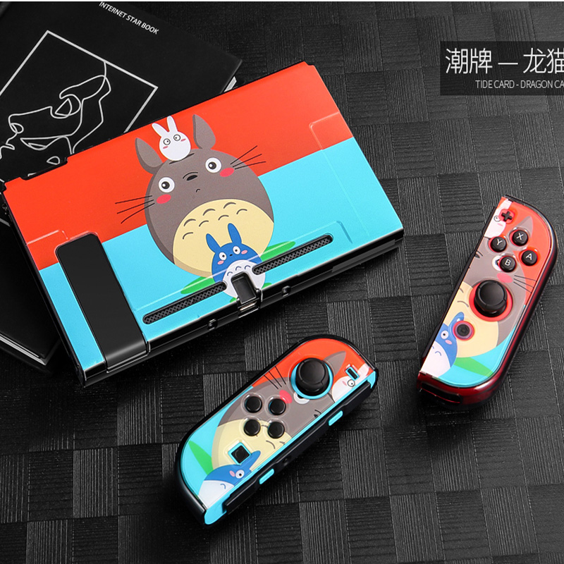 PC Anime Anti-scratch Nintend Switch Hard Thin Case Shell Skin Protector For Nintendoswitch Console Joy-Con Game Accessories