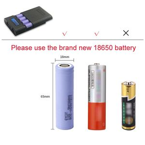 Image 5 - Anti Reverse DIY Power Bank Box 4x 18650 Battery LCD Display Charger For iphone