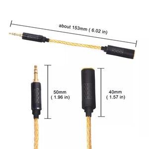 Image 4 - 고품질 헤드폰 전송 와이어 6 코어 이어폰 어댑터 4.4mm 여성 3.5mm 남성 소니 dmpz1 zx300a A 35 pha2a 아이폰에 대 한