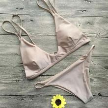 Mini Summer Bikini Pure Color