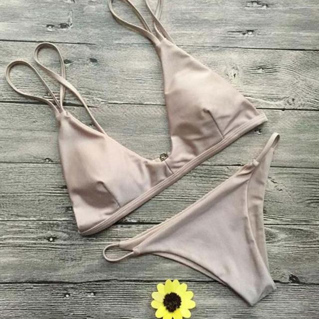 Mini Summer Bikini Pure Color