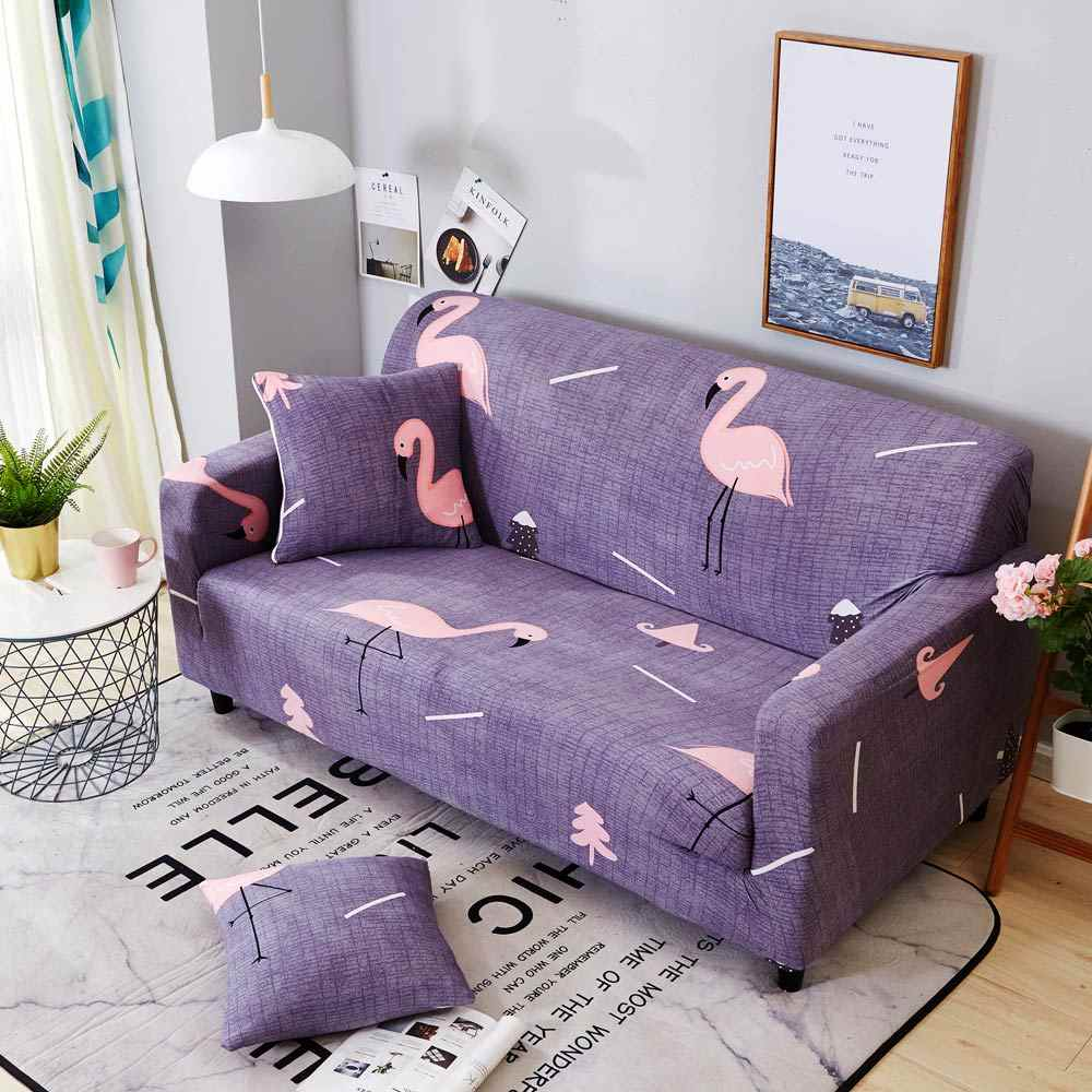 Fine 2018 Simple Dark Purple Microfiber Stretch Elastic Chair Bralicious Painted Fabric Chair Ideas Braliciousco