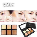 6 Color Concealer  cream kit  Facial Face Cream Care  Professional Concealer Palette Camouflage Makeup base Palettes Cosmetic