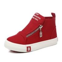 Children Shoes Child Canvas Shoes 2016 Spring Autumn Fashion White Boy Girl Child Shoes Kilen Casual