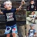 Tatuaje Camiseta Del Verano Nuevos Niños de la Historieta del muchacho Camisetas Niños Camiseta de los niños Diseña Ropa Para Niños Ropa de Bebé Niñas camisetas
