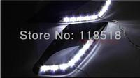 Hot Sale Free Shipping NEW LED Fog Lamp Day Light For 2011 2012 Hyundai Elantra J5