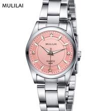 new 4 Fashion colors mulilai Brand relogio Luxury Women's Casual watches waterproof watch women fashion Dress Rhinestone watch