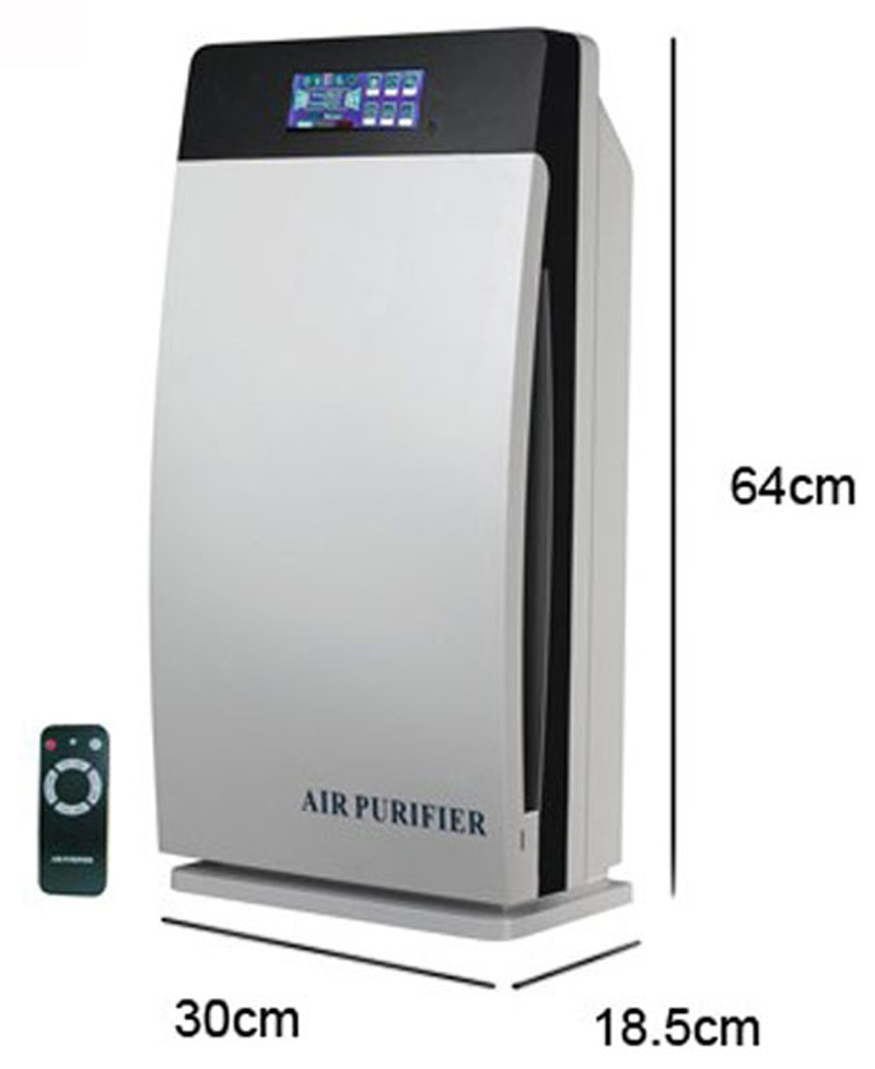 Home /Office Air Purifier Hepa, Activated, Carbon, Ozone, Negative Ion, Uv, Gl 8138 Air