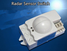 High quality AC220 100W Microwave Radar MR-WB120 Sensor Switch for Panel Ceiling Light Entrance Stairs Sensing range 1-8 meters high quality 360degree 600w 1200w microwave smart motion sensor ac220 240v light radar switch ceiling recessed wall cm090