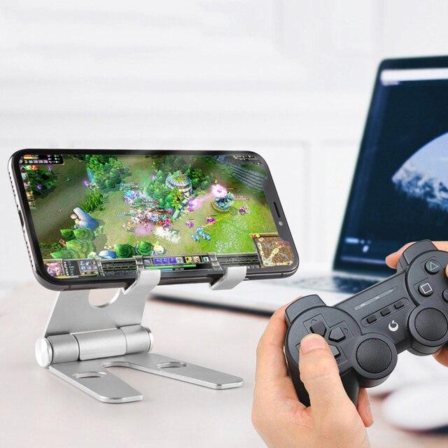 Mobil telefon braketi masaüstü tutucu evrensel Tablet akıllı telefon standı cep telefonu aksesuarları