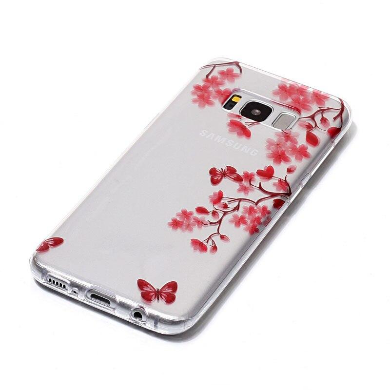 Φ_ΦHehan alta IMD caja del teléfono móvil para Samsung S8 TPU patrón ...