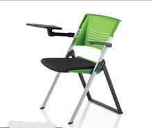 Conference Chair Commercial Furniture Office High Grade Plastic Folding Training With Board