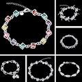 silver bracelet, 925 free shipping silver fashion jewelry White Gem Bracelet /azzajrga awnajnua