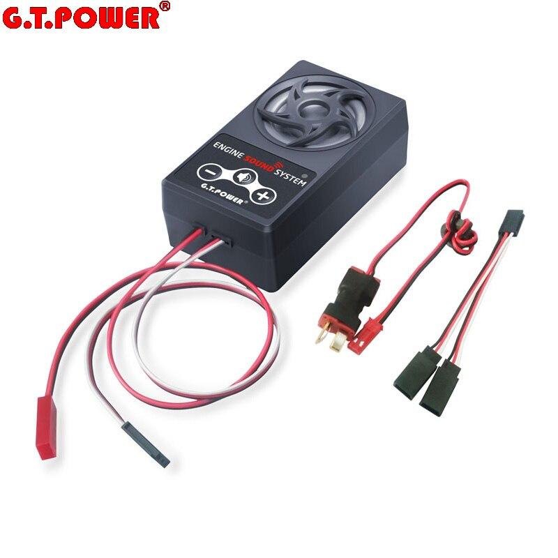 G. T. système de simulation sonore du moteur de puissance pour voiture RC Axial SCX 10 II WRAITH Traxxas TRX4