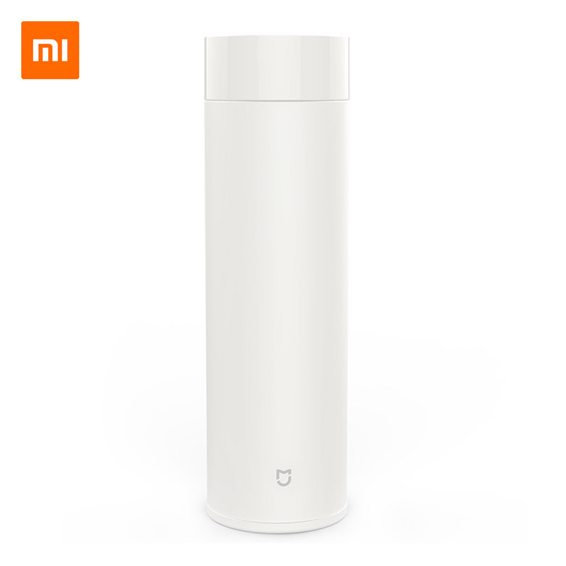 Xiaomi Mijia 500ml Thermal Cup Vacuum Flask Heat Water Tea Mug Thermos Insulated 316L Stainless Steel 12 Hours Warm/Cold Keeping stainless steel insulated vacuum mug silver 350ml