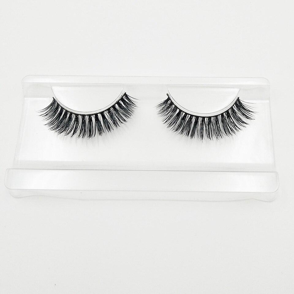 XME015 natural long lashes  (7)