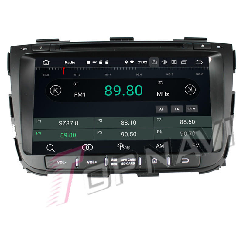 2 din android car radio For KIA Sorento 2013