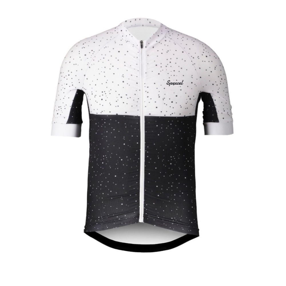 SPEXCEL 2018 NEW White black training Cycling Jersey Short Sleeve Race cycling gear road shirt Italy Anti-slip belt at sleeve best quality 2016 17 reales madrides kids short sleeve white black third jersey camisa shirt shorts socks