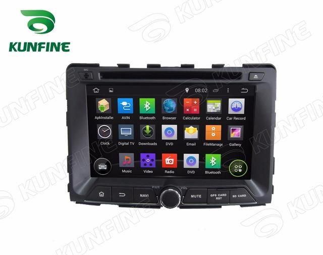 Quad Core 1024*600 Android 4.4 Reproductor de DVD Del Coche de Navegación GPS Estéreo Del Coche para SsangYong RODIUS/REXTON 2014 Radio 3G Wifi Bluetooth