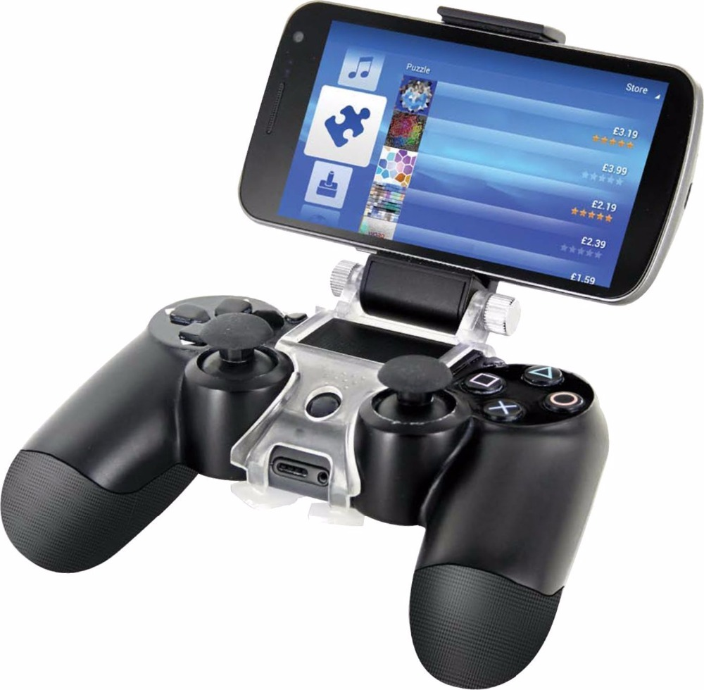 Accessories for Sony PlayStation 4 PS4 Smart Phone Clip Clamp Mount Holder Stand Bracket Phone Clip Holder Stand for PS4