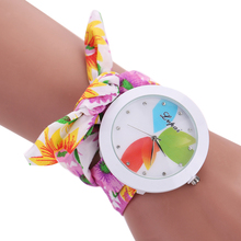 Fashion Ladies Flower Bracelet Watches