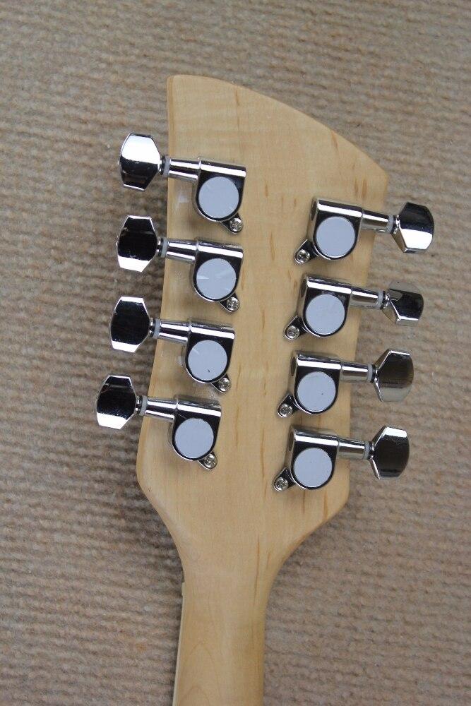Mandoline électrique 8 cordes Style T-corps solide MMT-1E sunburst guitare électrique 15-9 - 4