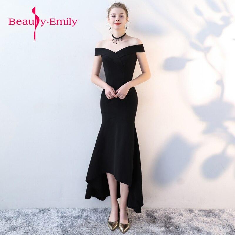 Jeune femme classique noir robes de bal 2018 Vestido de Festa sans manches robe d'anniversaire longue robe de bal robes d'occasion spéciale