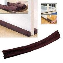 Guard Wind Dust Blocker Sealer Stopper Insulator Door Window Brown interior or exterior doors and windows protecter Door Stops