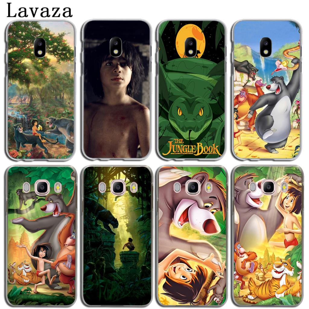 Lavaza Cartoon The Jungle Book Phone Shell Hard Case for Samsung Galaxy J3 J1 J2 J5 J7 2015 2016 2017 J2 Ace Pro J5 Prime Cover
