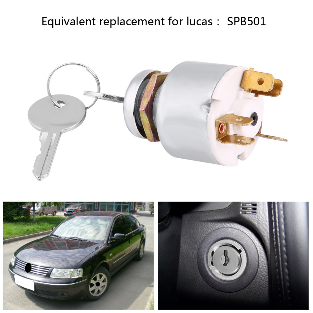Atv Parts & Accessories Cheap Price Ignition Switch Key Start Switch Professional Motorcycle Switch Lock Lock Key 4 Wires 2 Gear Universal On/off Durable Low Price