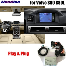 Liandlee Car Original Screen Update System For Volvo S80 2012 2013 2014 Rear Reverse Parking Camera
