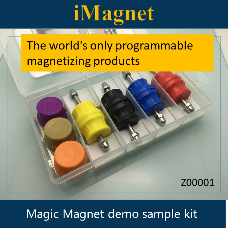 Z00001 The world's only programmable magnetizing products,Magic Magnet Demo Kit.Game magnet. demo