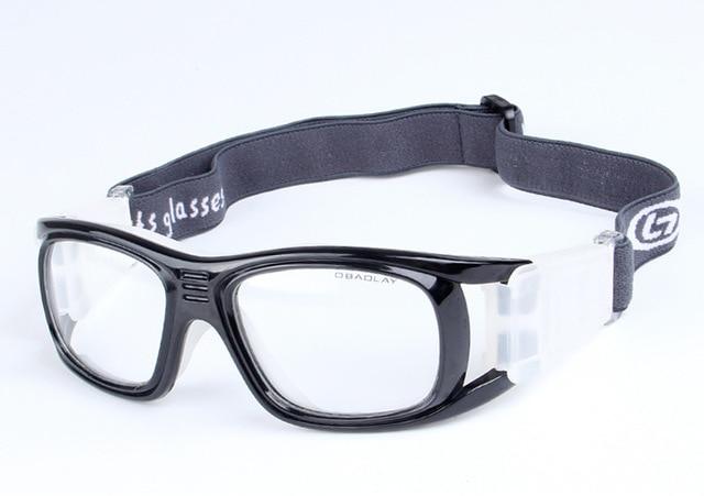 9f89e40652e 8 Colors Professional Basketball glasses Football Sports glasses Goggles eye  frame match optical lens for myopia