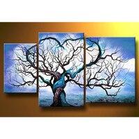 Diy Diamond Painting Blue Ocean Cloud Tree Square Full 3D Cross Stitch Rhinestone Diamond Embroidery Handmade