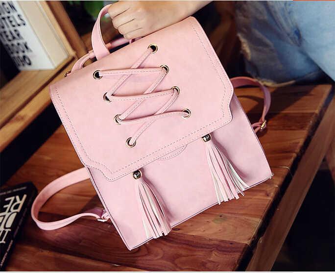 Mode kleine frauen nette rucksack zwei schulter rucksack für reise campus student multi funktion rucksack hyyuu598
