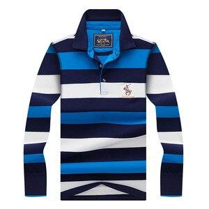 Brand Mens Polo Shirts Autumn