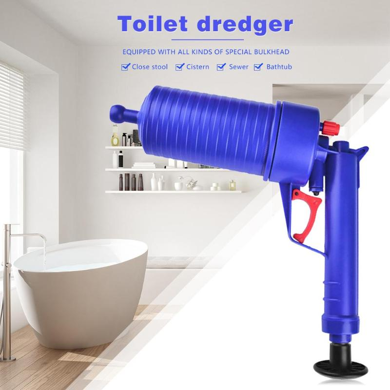 Hot Air Power Drain Blaster Gun With High Pressure And Cleaner Pump For Toilets Showers Bathroom 4