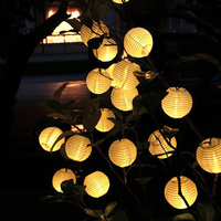 LEDGLE Ultra Long String Light Waterproof Patio Lights Globe Decorative Lights With 30 LED Lights 8