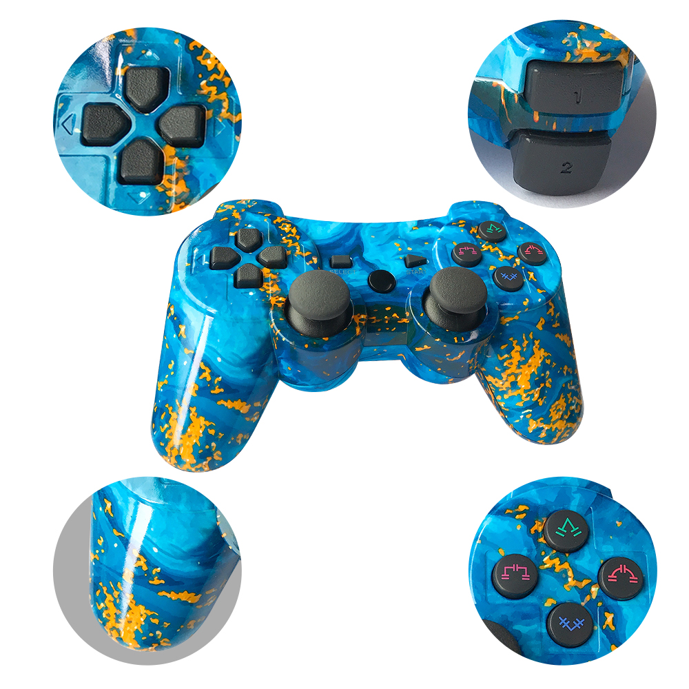 Bluetooth For Sony Playstation 3/Ps2/Pc Controller Wireless Gamepad Joystick For Playstation3 SIXAXIS Gamepads