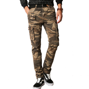 Image 4 - Vomint New Men Fashion Military Cargo Army Pants Slim Regualr Straight Fit Cotton Multi Color Camouflage Green Yellow V7A1P015