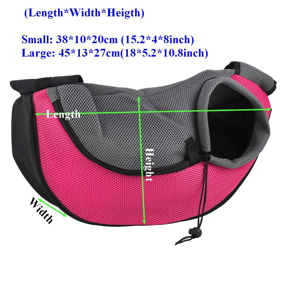 Carrying Cat Dog Puppy Small Animal Sling Front Carrier