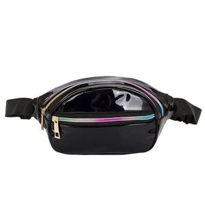 Waist-Bags Fanny-Pack Laser Holographic Women Punk New Solid
