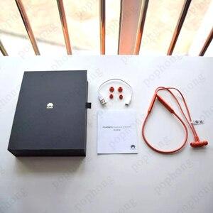 Image 5 - Huawei FreeLace אלחוטי אוזניות Bluetooth ספורט עמיד למים ב אוזן זיכרון כבל מתכת חלל מתג מגנטי