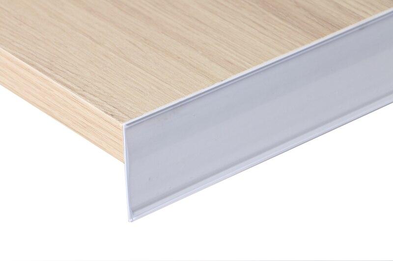 Merchandise Name Card Holder Clip Strip Paper Holder Shelf Talker Signs Clip Strip Display Rack Data Strip Label Holder Adhesive