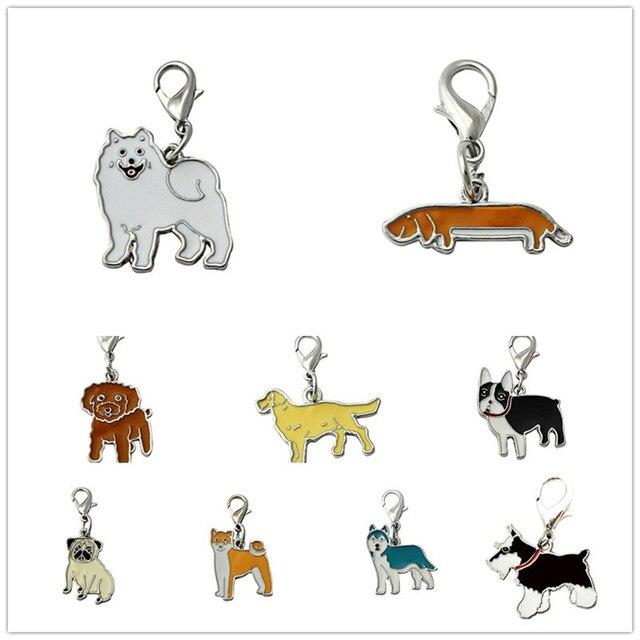 2017 Gorąca Sprzedaż Dog Pet ID Tag Disc Dysku Metalowe Emaliowane Emaliowane Akcesoria Kołnierz Naszyjnik Wisiorek Spersonalizowany Darmo High Power