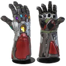 Endgame Iron Man Infinity Gauntlet Hulk Cosplay Arm Thanos Latex Handschoenen Armen Masker Marvel Superheld Wapen Party Props(China)