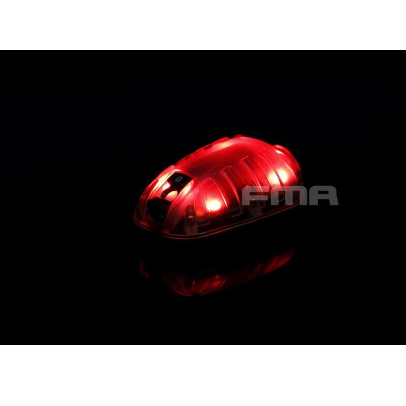 Nouveau FMA casque léger Airsoft tactique chasse survie hel-star 6 casque sécurité Flash lumière TB537 rouge