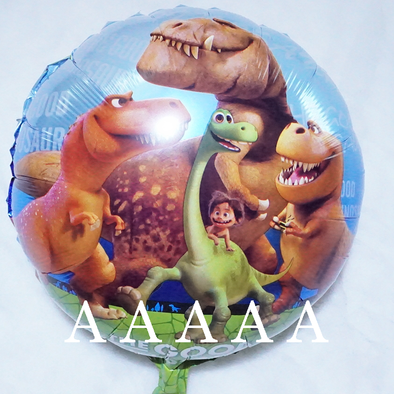 5pcs/lot birthday balloons The Good Dinosaur balloons foil material 18inch party