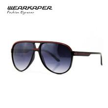 WEARKAPER Brand Retro plastic sunglasses Fashion Popular line decoration glasses UV400 Oculos