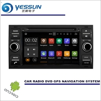 YESSUN Wince / Android Car Media Navi System For Ford Tourneo / Transit 2006~2013 CD DVD GPS Player Navi Radio Stereo HD Screen
